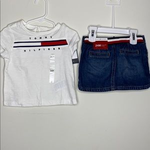 Tommy Hilfiger Set 24m New w Tags